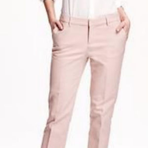 OLD NAVY THE HARPER PANT MID-RISE IN MINK PINK